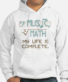 Math and Music Jumper Hoody