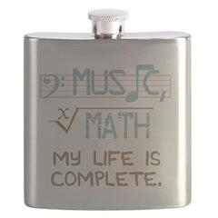Math and Music Flask