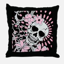 Vintage Skull IPAD Throw Pillow