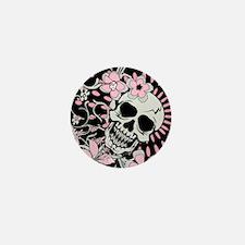 Vintage Skull IPAD Mini Button