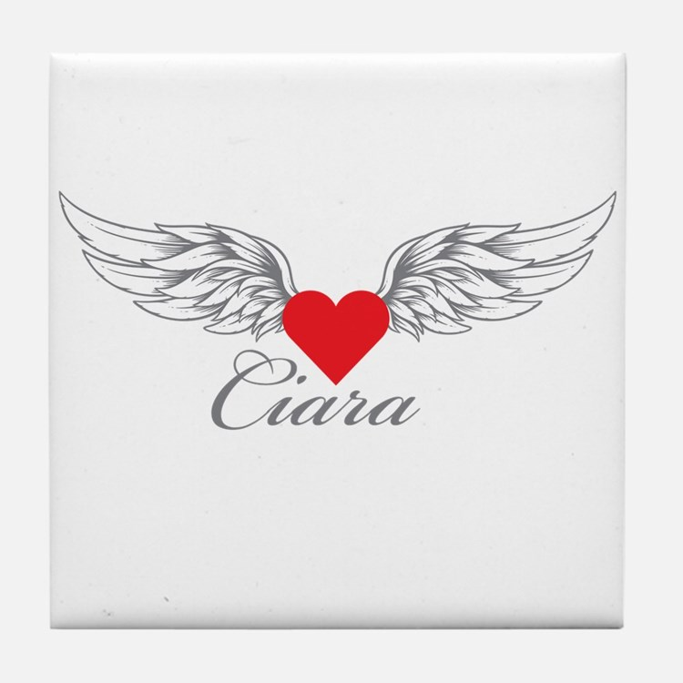 Angel Wings Ciara Tile Coaster