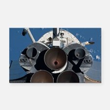 iss022e059279 Rectangle Car Magnet