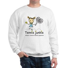 tennis_junkie2 Sweatshirt