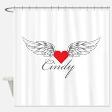 Angel Wings Cindy Shower Curtain