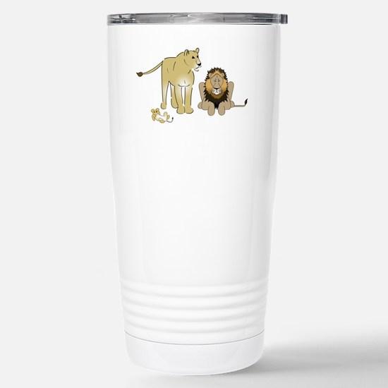LionGroupdark Stainless Steel Travel Mug