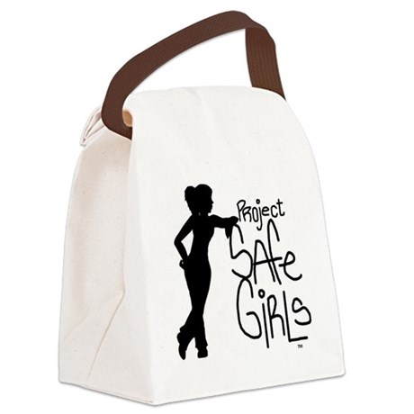 PROJECT SAFE GIRLS SMALLER Canvas Lunch Bag