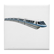 new monorail t shirt copy Tile Coaster