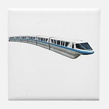 new monorail t shirt copy Tile Coaster