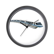 new monorail t shirt copy Wall Clock