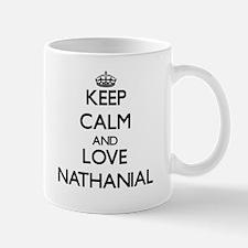 Keep Calm and Love Nathanial Mugs