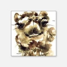 """CamelFountainer Square Sticker 3"""" x 3"""""""