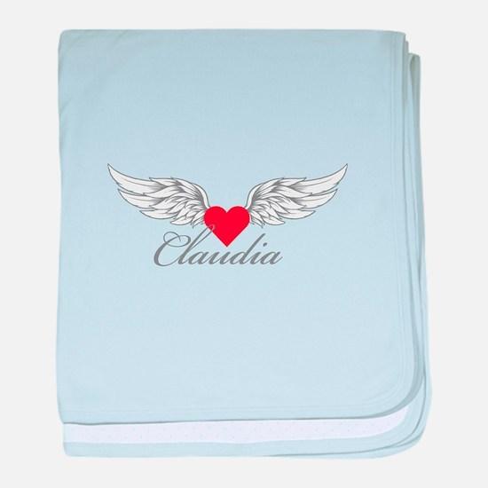 Angel Wings Claudia baby blanket