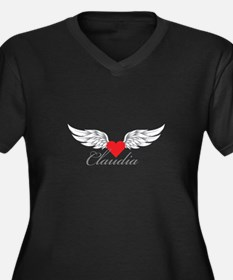 Angel Wings Claudia Plus Size T-Shirt