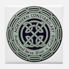 Northern Constabulary United Kingdom Tile Coaster
