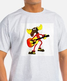 12-string acoustic guitar MOO Ash Grey T-Shirt