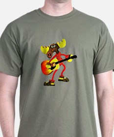 12-string acoustic guitar MOO T-Shirt