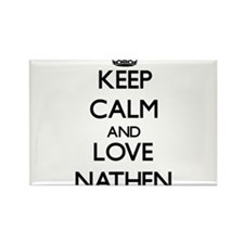 Keep Calm and Love Nathen Magnets