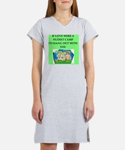 valentines day gifts t-shirts Women's Nightshirt