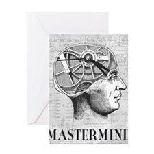mastermind Greeting Card