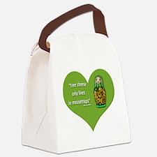 FreeCheese2 Canvas Lunch Bag