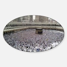 Last Day of Hajj Sticker (Oval)
