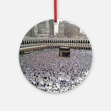 Last Day of Hajj Round Ornament