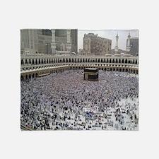 Last Day of Hajj Throw Blanket
