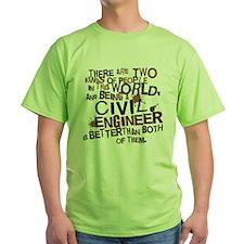 Civil Engineer (Funny) Gif T-Shirt