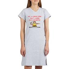 GEOMETRY gifts t-shirts Women's Nightshirt