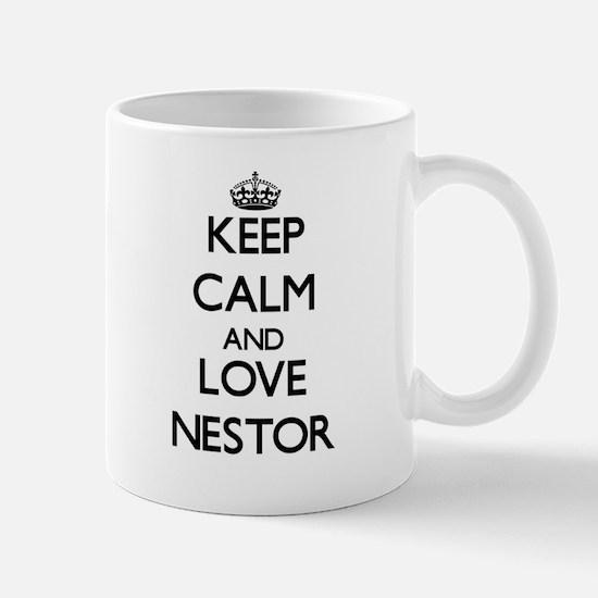 Keep Calm and Love Nestor Mugs