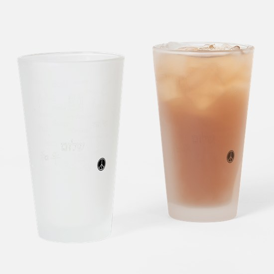 peacetrans Drinking Glass