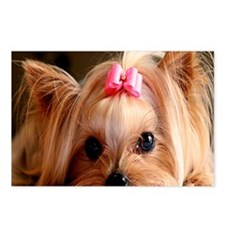 Yorkie note Postcards (Package of 8)