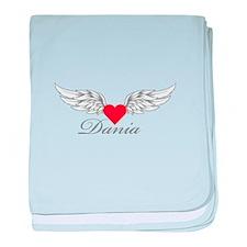 Angel Wings Dania baby blanket
