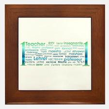 # 1 Teacher Framed Tile