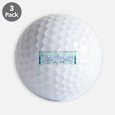 # 1 Teacher Golf Ball