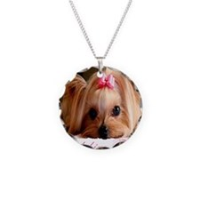 Yorkie shirt Necklace