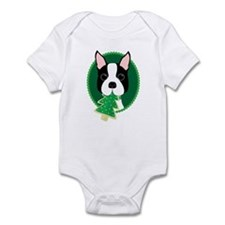 Boston Terrier Christmas Body Suit