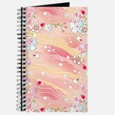 Japanese pink cherry blossoms Journal