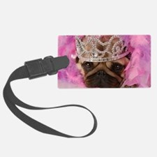 Fotolia Queen pug jpeg Luggage Tag