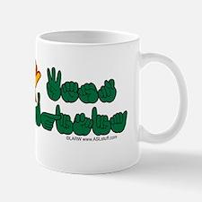 WVstateFlagILYbs Mug