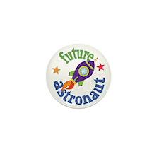 FutureAstronautRocket Mini Button