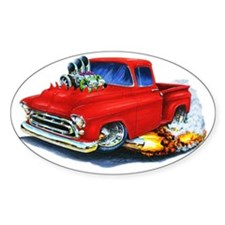 1957 Chevy Pickup Red Decal