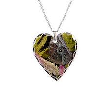 PSTR-blue-butterfly copy Necklace Heart Charm