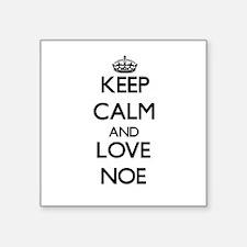 Keep Calm and Love Noe Sticker