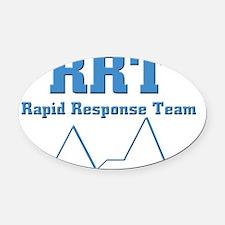 Rapid Response Team Oval Car Magnet