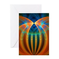 Abstract 192 Greeting Card