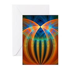 Abstract 192 Greeting Card, Pk 10