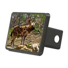 (10) African Wild Dog  193 Hitch Cover
