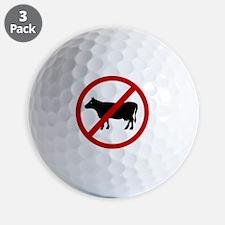 bull Golf Ball