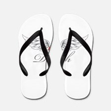 Angel Wings Delilah Flip Flops